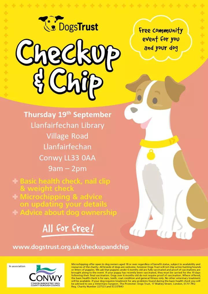 Dogs Trust Checkup & Chip